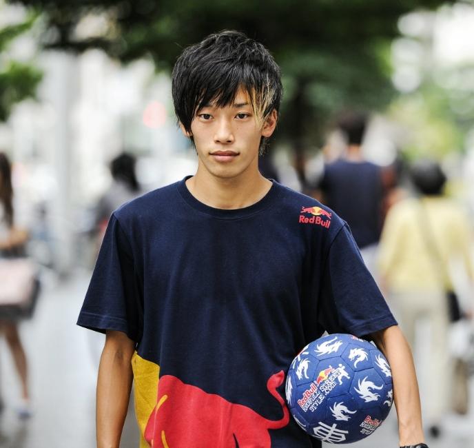 Kotaro Tokuda Male Soccer Model Tokyo Japan.jpg