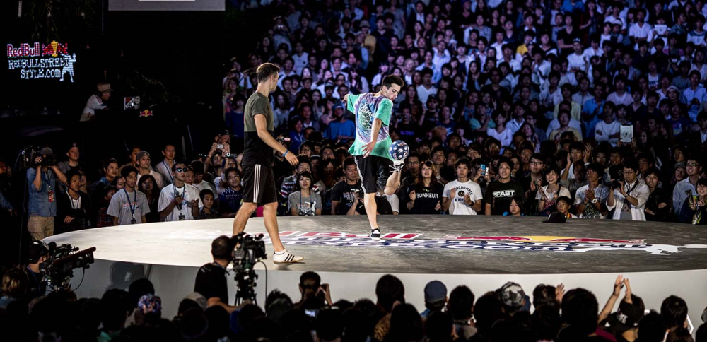 Daniel competing in yet another World Finals, this time in Tokyo in 2013