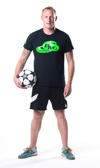 Dan Magness Football Freestyler London UK Hire