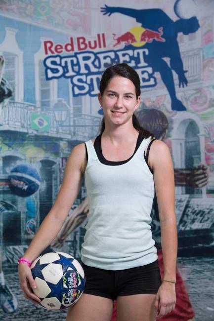 female freestyler - freestyle football female girl soccer