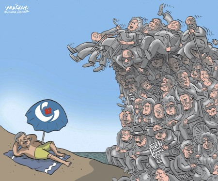 Cartoon by Graeme MacKay