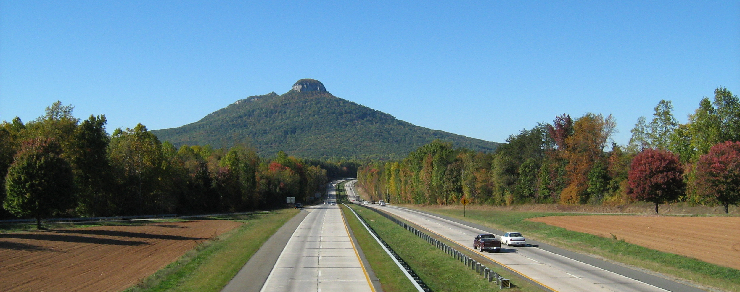 The nipple hill.