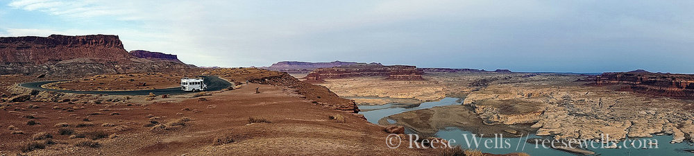 Panorama of Glen Canyon. Woof daddy woof!