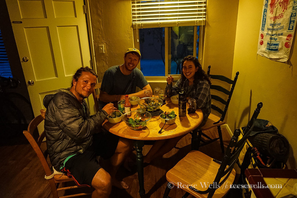 Family dinner with our friends Aaron & Cade in San Diego. Not sure what's up with Tyler's face here, I think he's either excited to eat or has to poop.