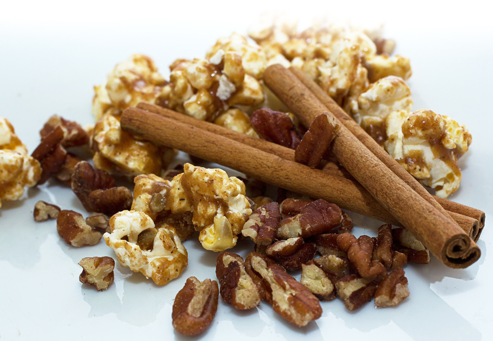 Cinnamon Pecan Mojo's Pop Co. Toffee Popcorn