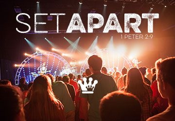 Set Apart - Theme for Summer Missions Camp 2016