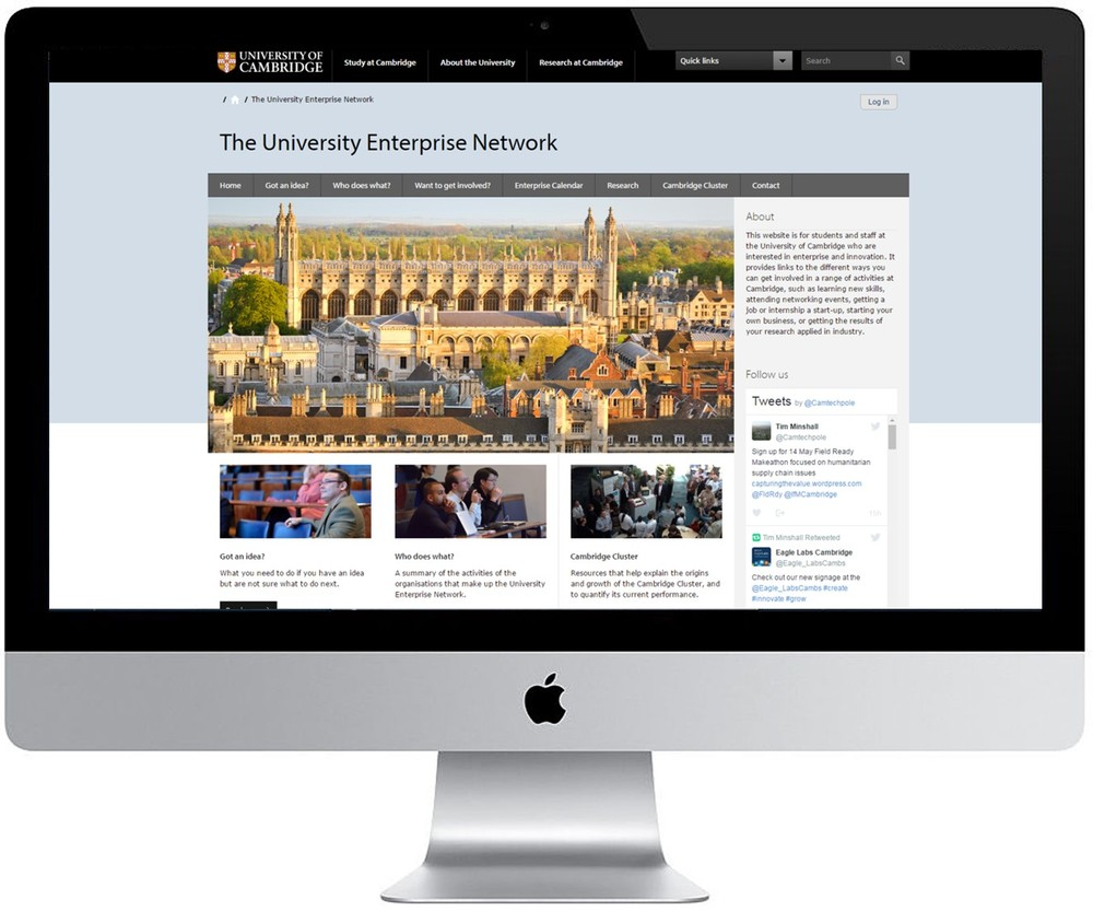 University-enterprise-network