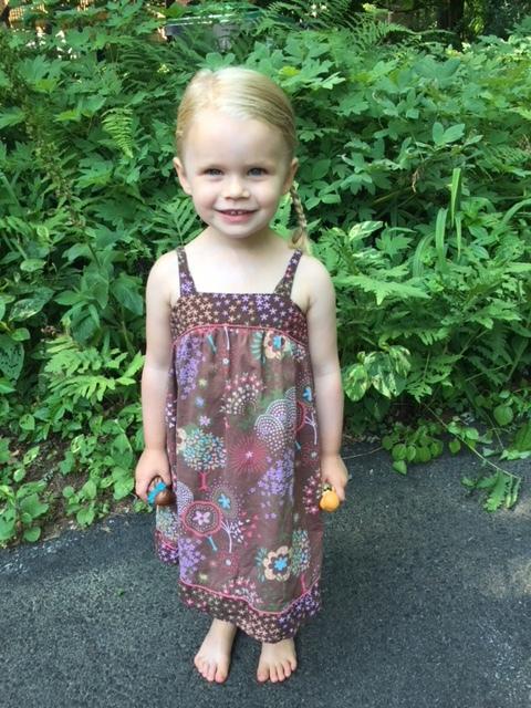Quinn Cunningham, 3, the youngest Hogan.