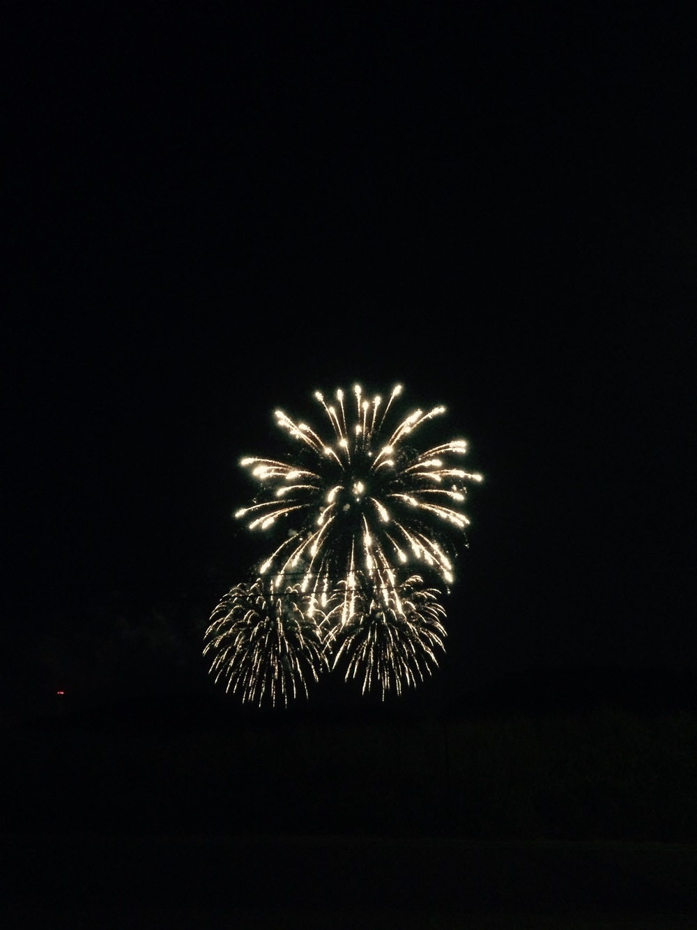We share these fireworks with the Grand Haven Coast Guard Festival.  *wink*