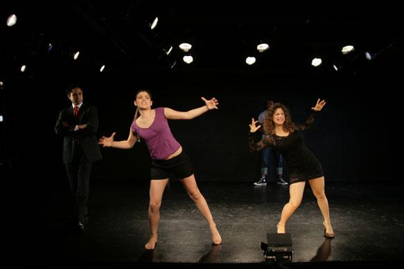 Michael Rosete, Karen Sours, Duane Cooper, and Cortnie Loren Miller at HERE Arts Center, NYC