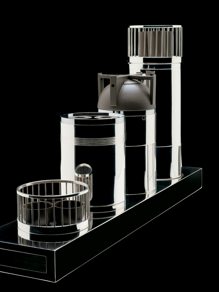 ALESSI, Kung Fu Tea Set & Coffee Tower