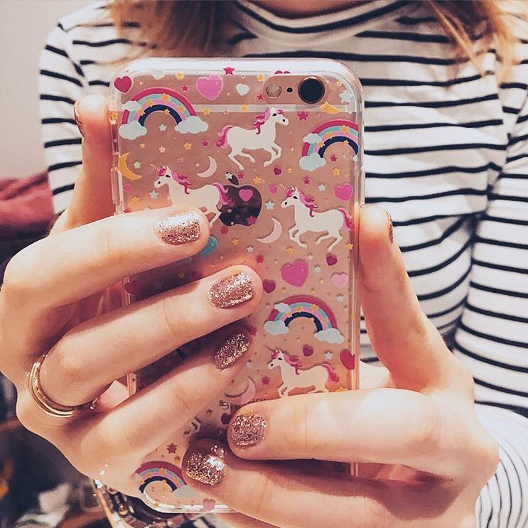 Inkase Unicorn Phone Case Selfie