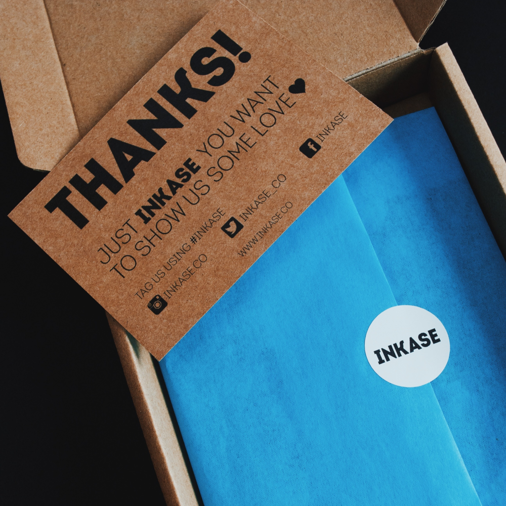 Inkase Phone Case Packaging