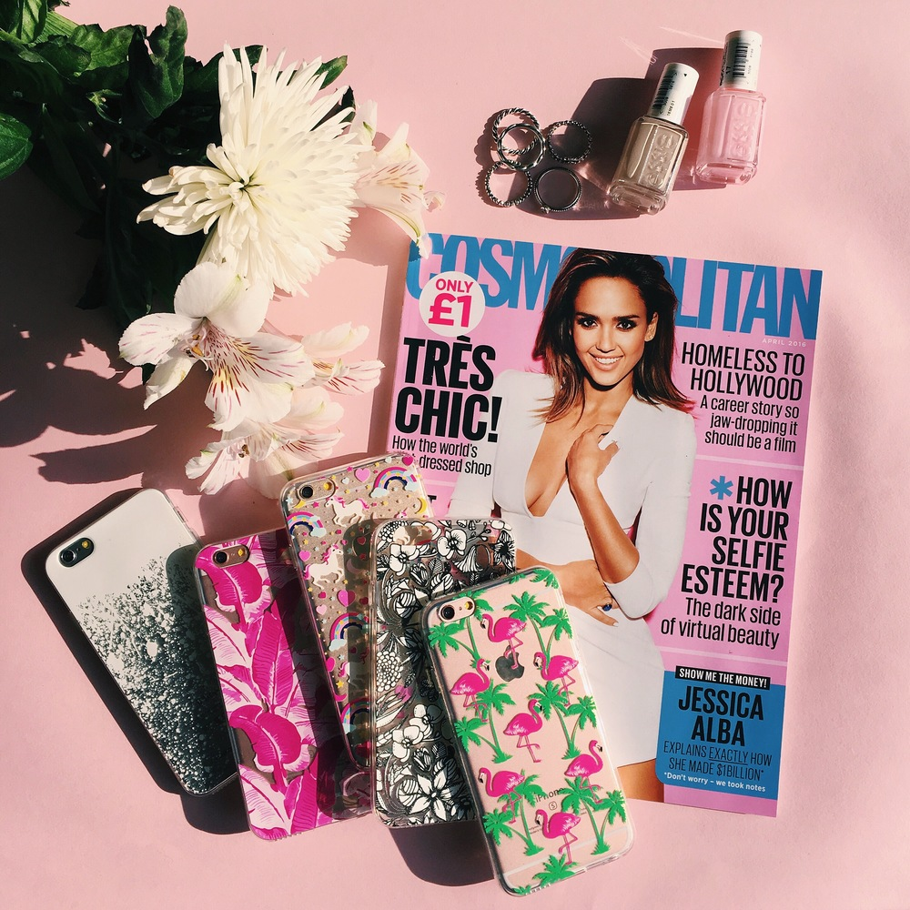 Inkase Phone Cases with Cosmopolitan Magazine