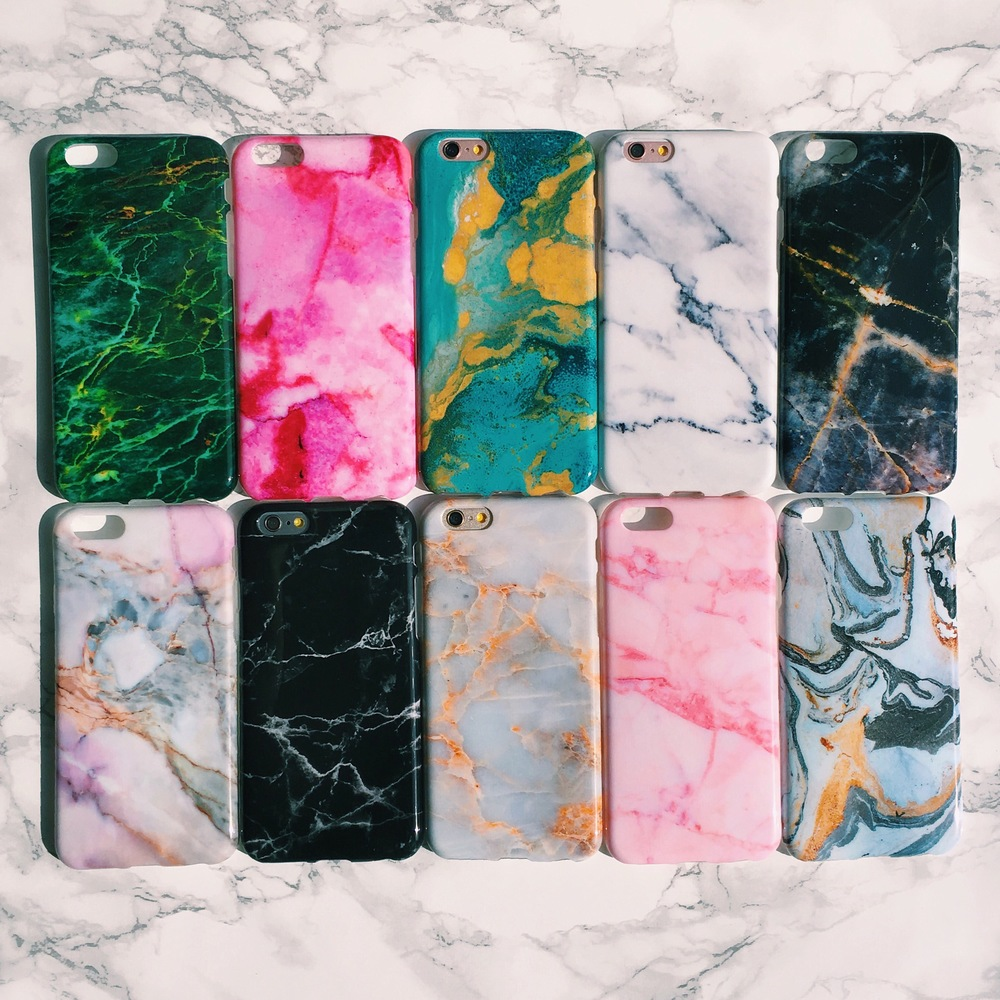 Inkase Marble iPhone Case Collection