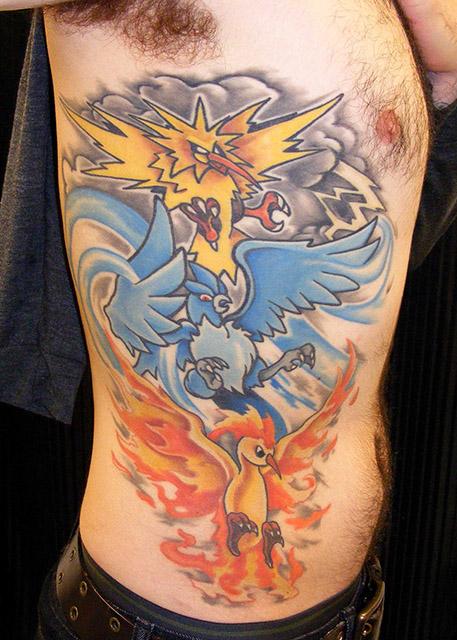 artisanal_tattoo_lou_o'caiside_pokemon_articuno_zapdos_moltres_tattoo.jpg