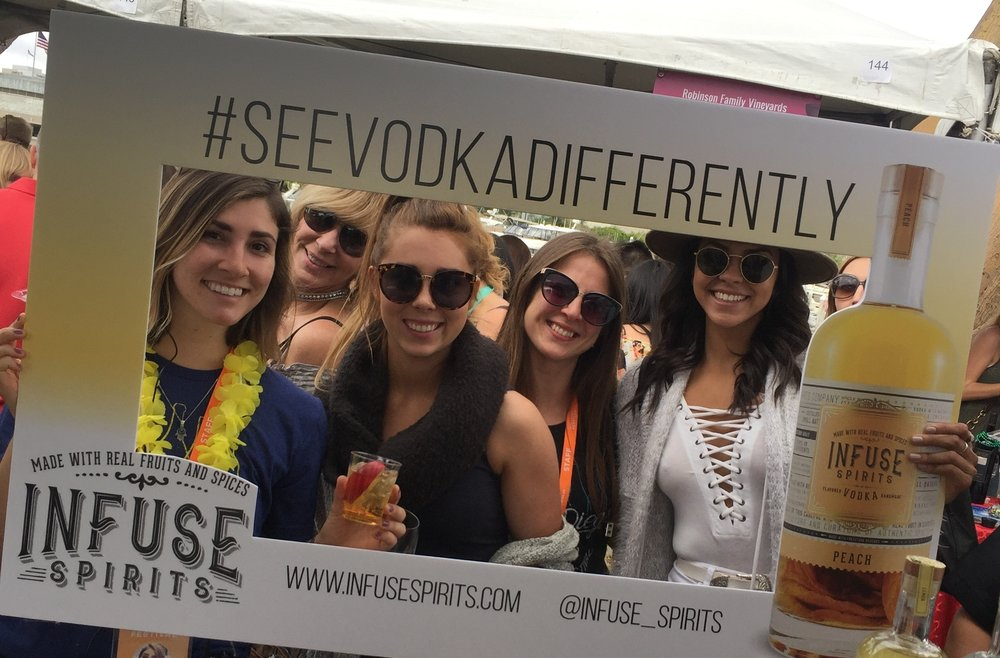 THE SAN DIEGO BAY FEST: INFUSE SPIRITS   - Experience Design, Lead Generation, Marketing Strategy, ROI Measurement, On-Site Management, Staffing, Logistics Management, Consumer Engagement