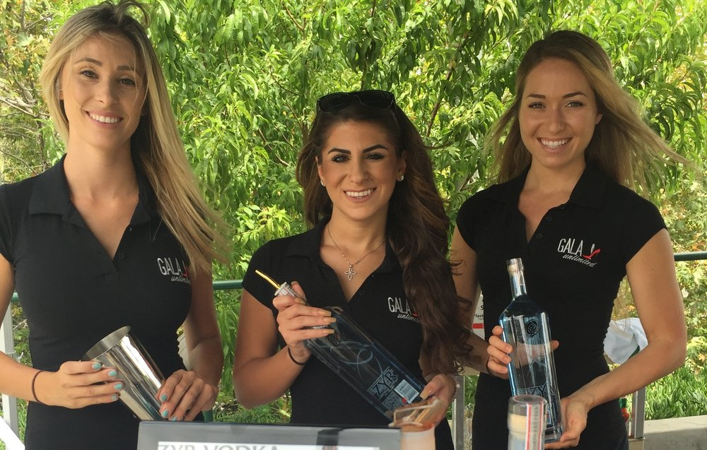 AMERICAN GOLF VIP TOURNAMENT - Sponsorship, Bar Activation, On-Site Management, Staffing, Consumer Engagement, Cocktail Menu Creation.