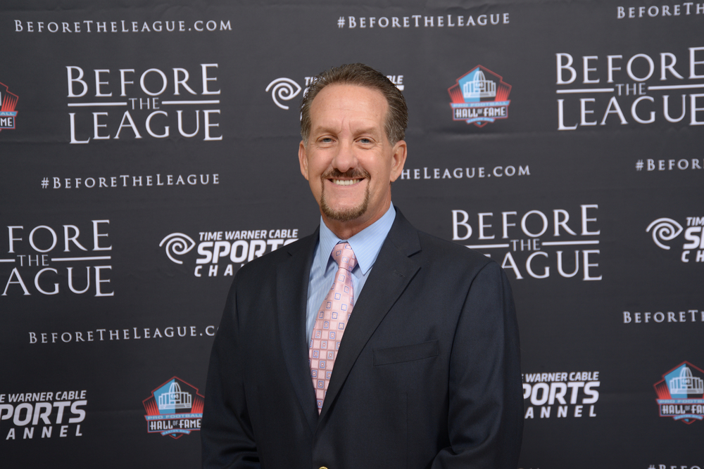 Bruce Hooley attend the Before The League documentary premiere on October 27, 2015 at the Pro Football Hall of Fame in Canton, Ohio.