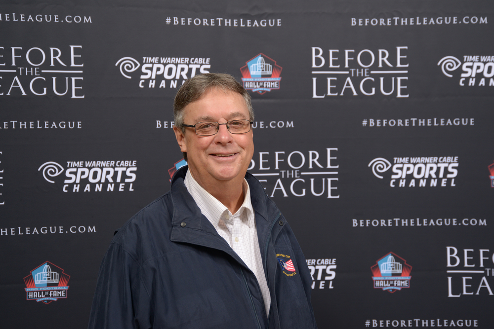 Tim Rogers attends the Before The League documentary premiere on October 27, 2015 at the Pro Football Hall of Fame in Canton, Ohio.