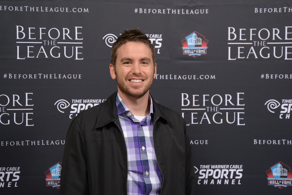 Joe Scalzo attends the Before The League documentary premiere on October 27, 2015 at the Pro Football Hall of Fame in Canton, Ohio.