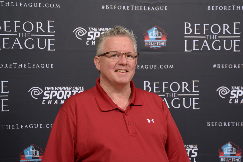Chuck Ridenour at the Before The League documentary premiere on October 27, 2015 at the Pro Football Hall of Fame in Canton, Ohio.