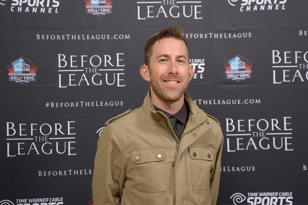 Ben Devine attend the Before The League documentary premiere on October 27, 2015 at the Pro Football Hall of Fame in Canton, Ohio.