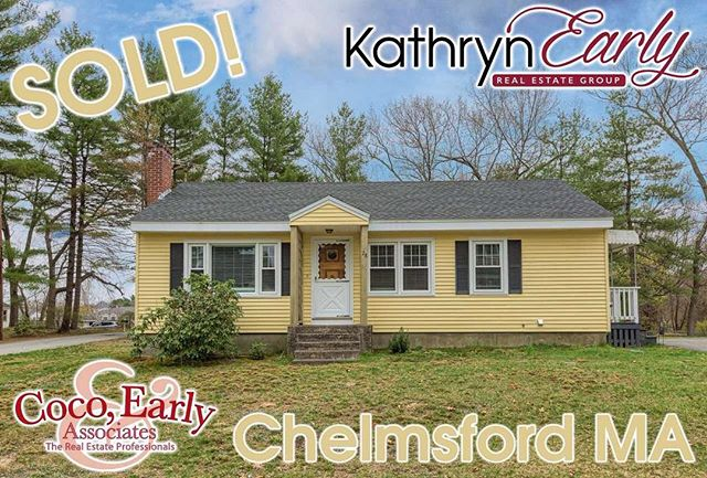 Sending a big congratulations to my adorable clients on the sale of their North Chelmsford home. Lindsay Clark Meehan and Brendan Meehanpurchased this home a few years back and have since tied the not, brought home their beautiful baby boy and a super cute pup! So many memories were created here but it was a unanimous decision that more space was needed! They were so kind to reach out to me to let them help with the sale of this home. I am so thankful for the opportunity and will forever appreciate them.  #thekathrynearlygroup #cocoearlyandassociates #realtor #realestate #mahomes #marealtor
