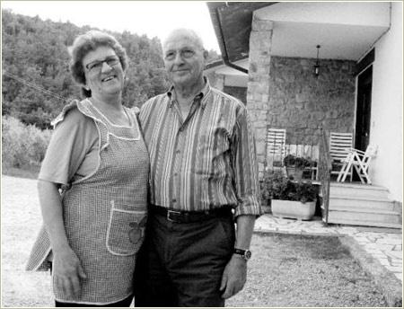 Maria and Romeo Bruni