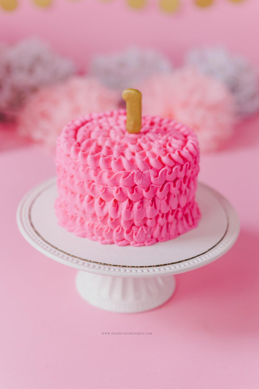 Charlotte Baby Cake Smash