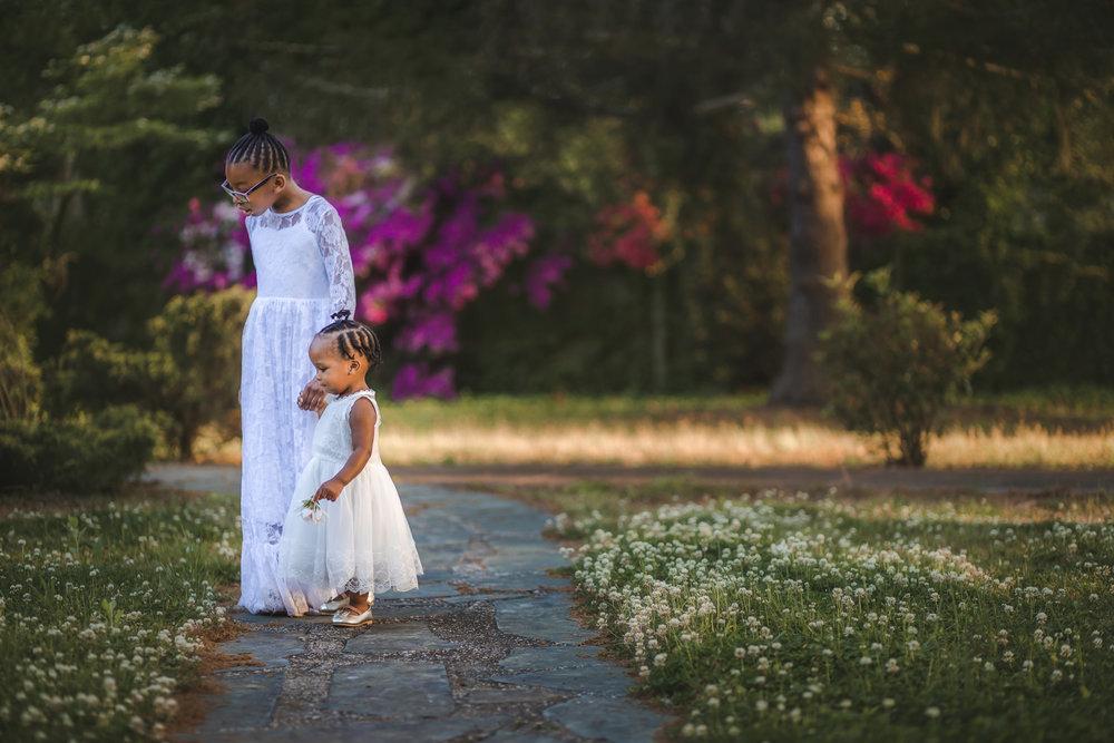 Childrens' White Dresses