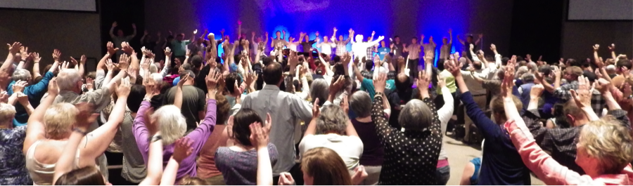 Worship and Prayer at the  One Church - One Day  Launch + Commissioning in 2015