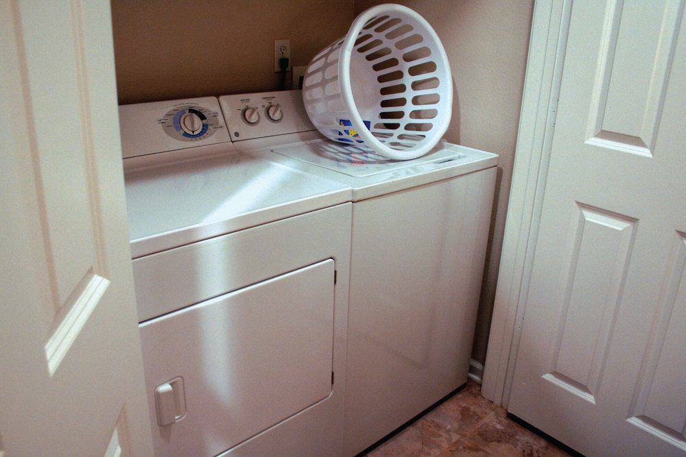 Washer & Dryer in your ExecuStay Apartment