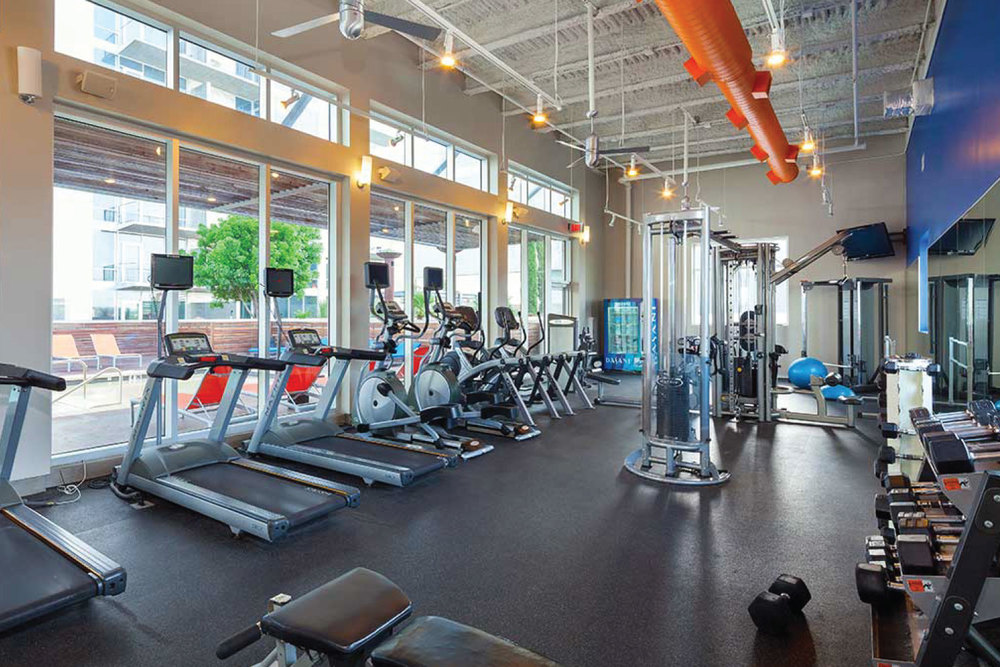 ExecuStay Midwest apartments — Fitness Facilities