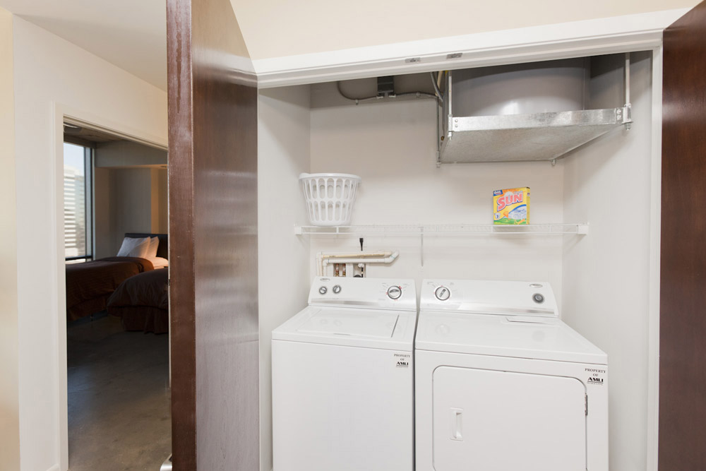 IN-UNIT LAUNDRY