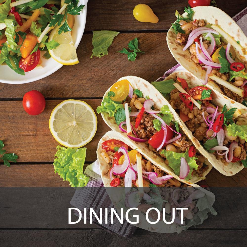 San Antonio Area Dining Out