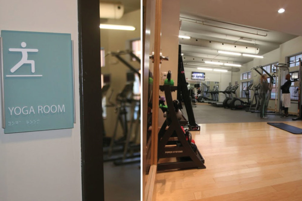 FITNESS CENTER, YOGA ROOM