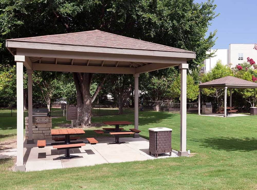 GAZEBOS AND GAS GRILLS