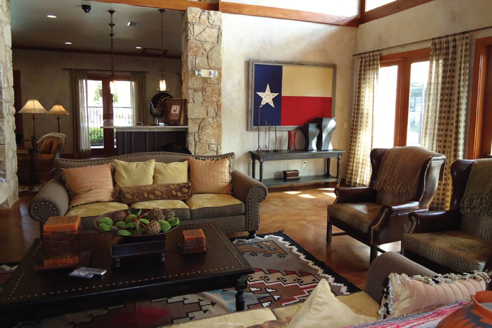 CLUBHOUSE WITH TEXAS CHARM