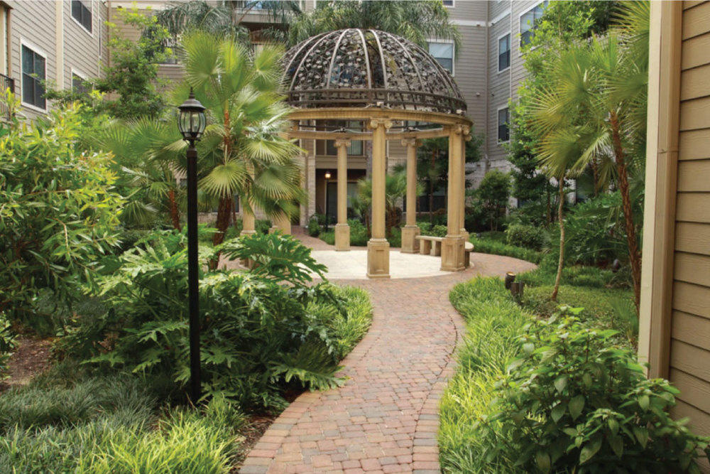 European Courtyard Settings