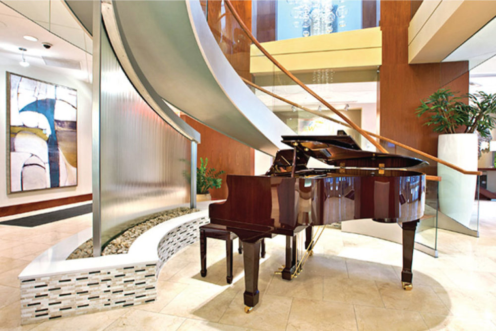 Lobby with Grand Piano