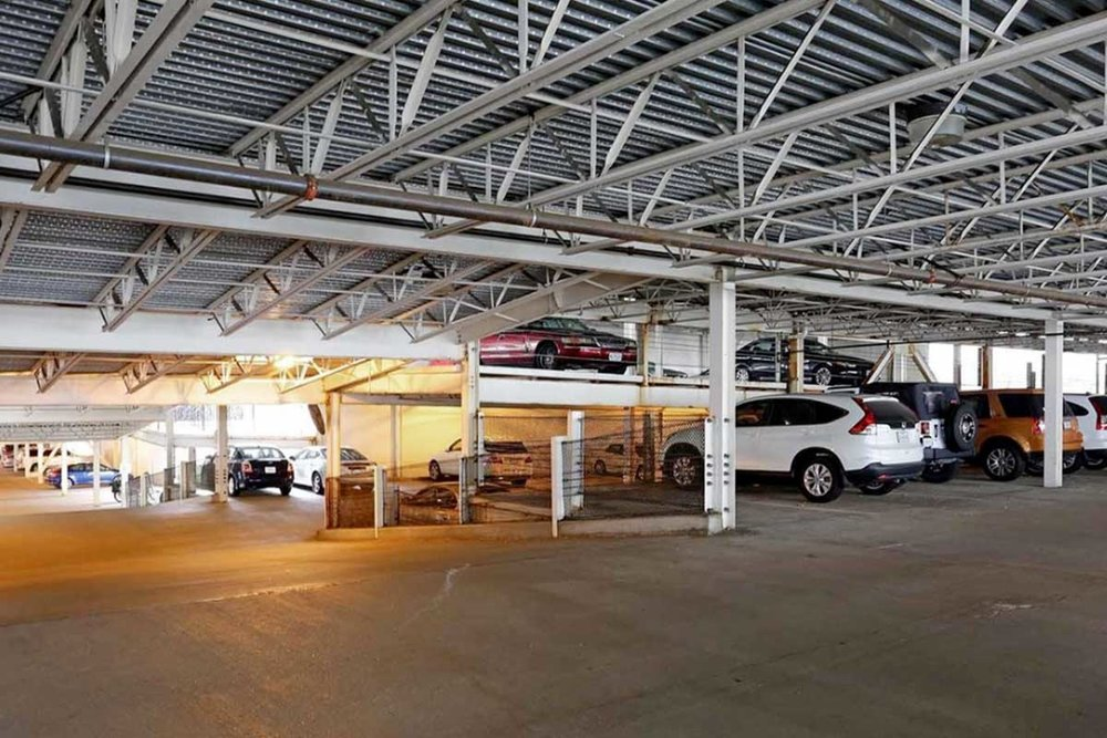 MULTI-LEVEL GARAGE