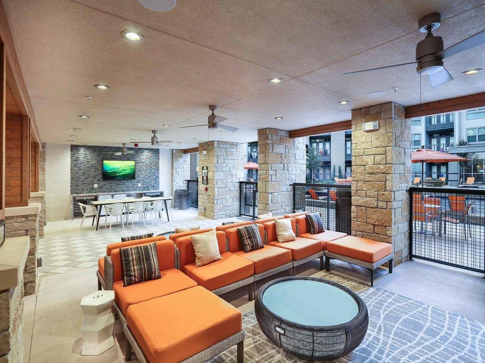 Indoor/Outdoor Community Lounge