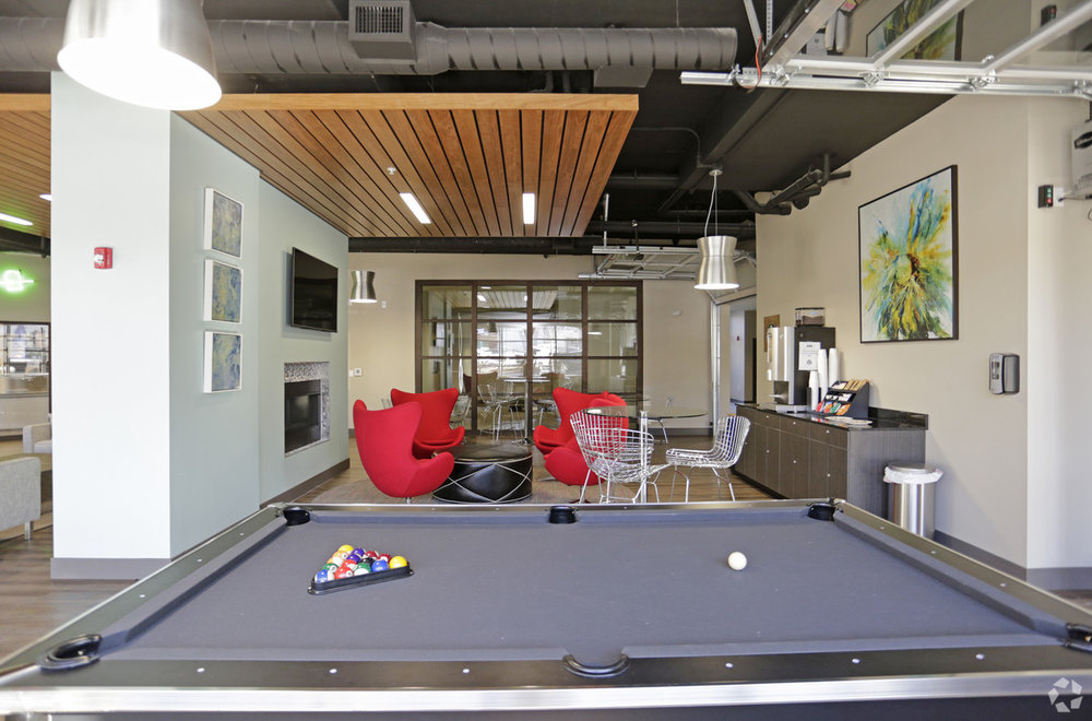 Lounge with Billiards