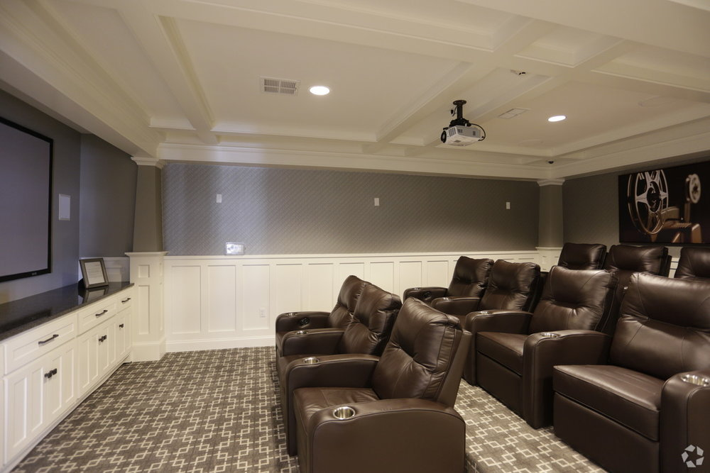 Viewing Room w/ Theater Seating