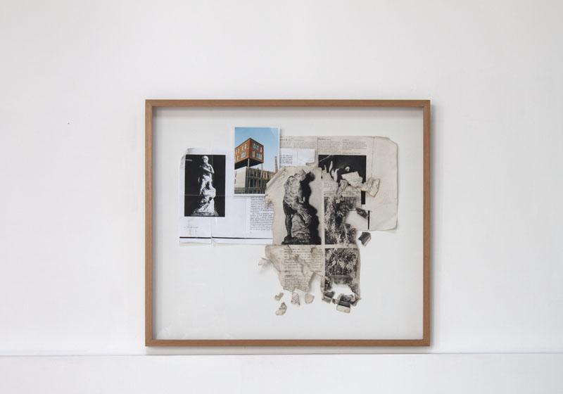 Relámpago 2 , 2010, fotografías,postales y fotocopias.