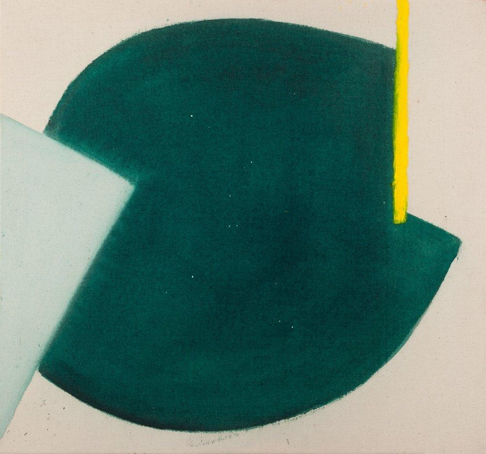 Aforismo 42-C  , 2015, acrílico sobre tela, 60 x 64 cm.