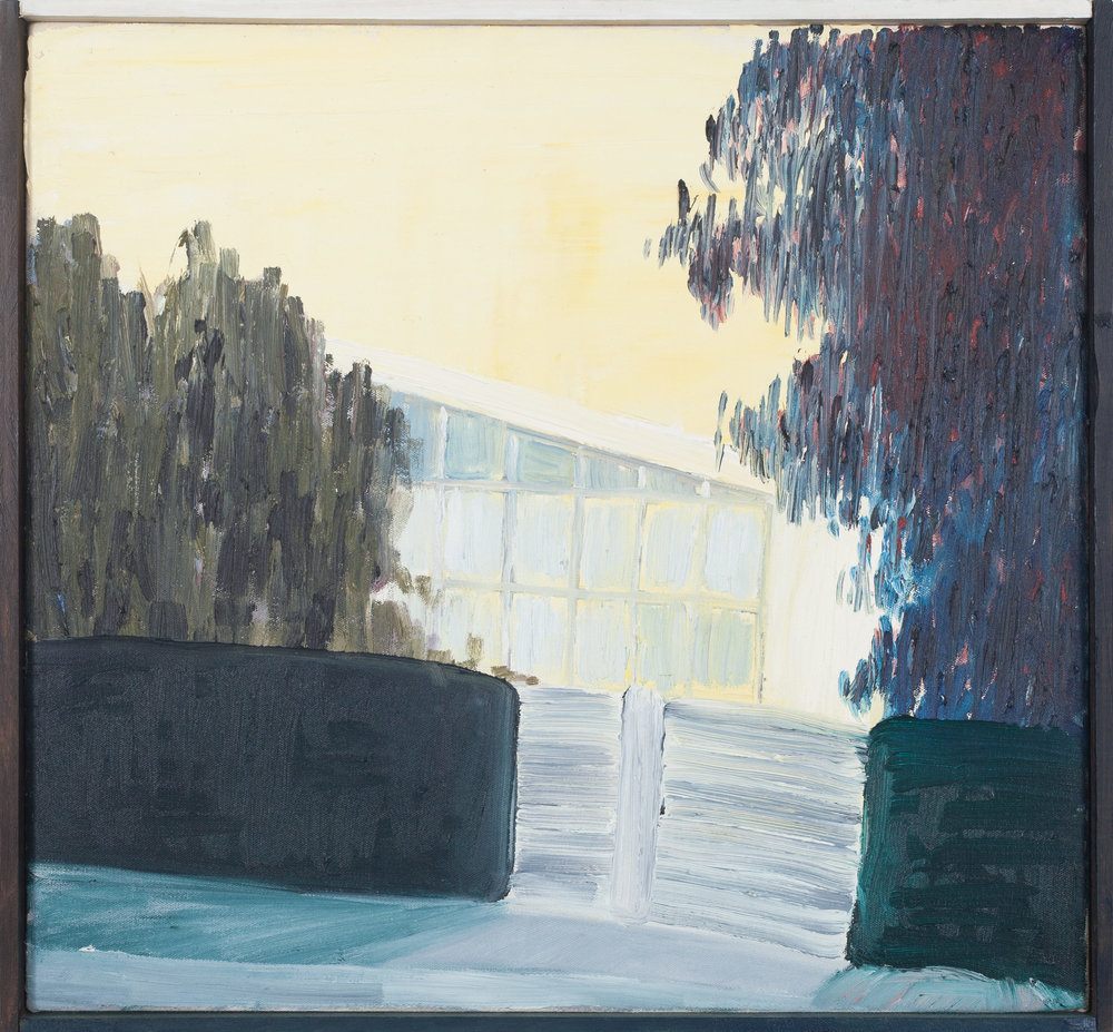 Vivienda privada 1949-I  , 2016, óleo sobre tela, 40 x 43 cm.