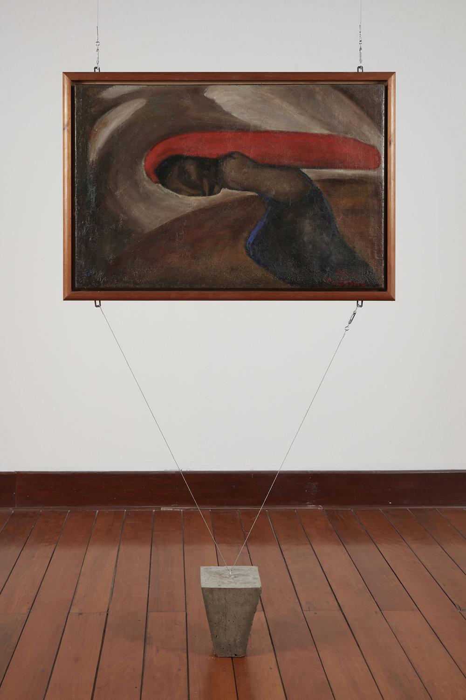 Julia Codesido,  Tormenta ,  ca. 1950. Colección Museo de Arte, UNMSM