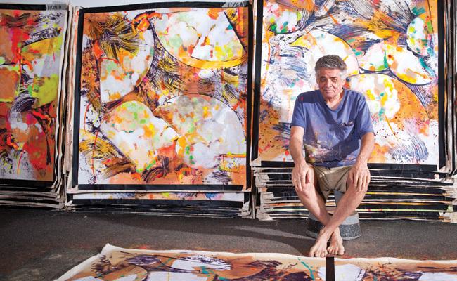 Walter Darby Bannard Seraphin Gallery Philadelphia Art Gallery